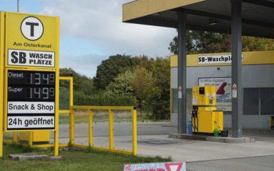 Modernisierung der Tankstelle Seichter in Papenburg